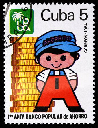 collectible: Cuba stamp