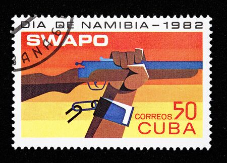Cuban stamp  photo