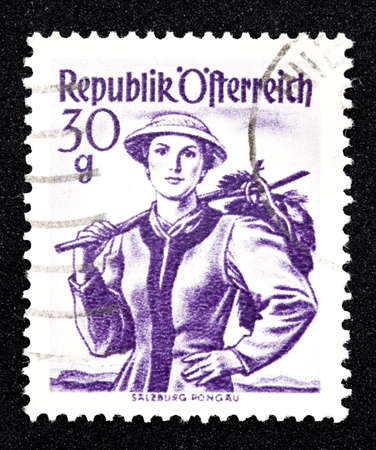 collectible: Austrian stamp