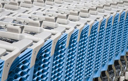 Shopping carts Stock Photo - 7420550