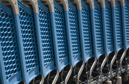 Shopping carts Stock Photo - 7420553