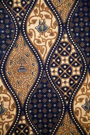 Batik-Hintergrund  Standard-Bild - 7760096