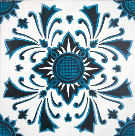 Indonesian tile photo