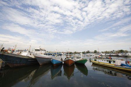 Makassar harbor photo