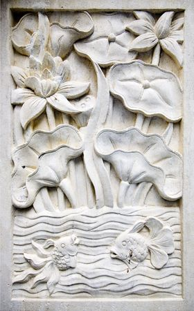 Bali stone carving Stock Photo - 7857811