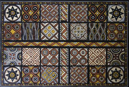 ade: Toraja wood carving; each panel symbolizes goodwill