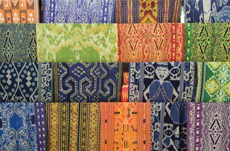 Lombok-Textil Standard-Bild - 8041165