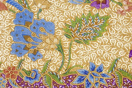 Batik-design Standard-Bild - 8190475