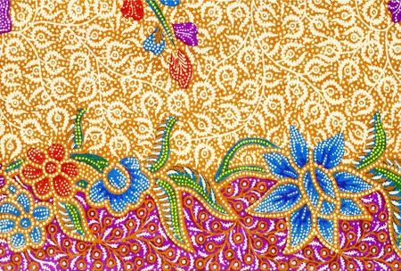 batik pattern: Batik desing Stock Photo