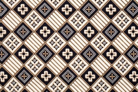 Batik Hintergrund Standard-Bild - 8963850