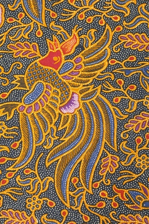 Batik design Standard-Bild - 8963967