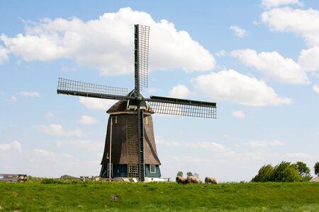 berkmeer: Dutch windmill