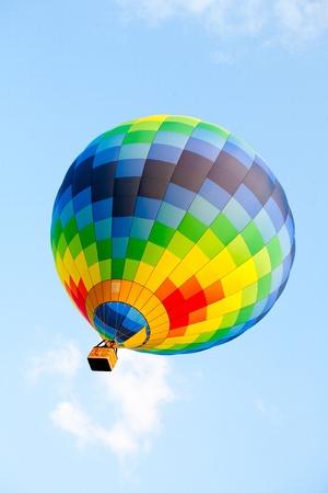 flight mode: Hot air balloon
