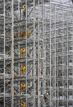Construction site Stock Photo - 10349212
