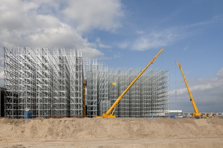 building material: Construction site