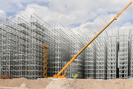 Construction site  Stock Photo - 10349215