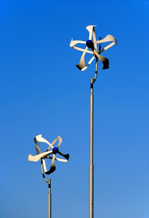 wind force: Wind turbines