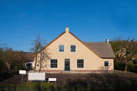 new build: Dutch farm house