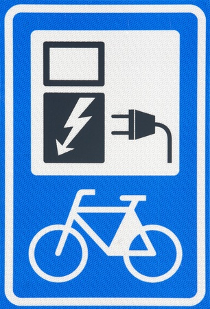electric socket: Traffic sign