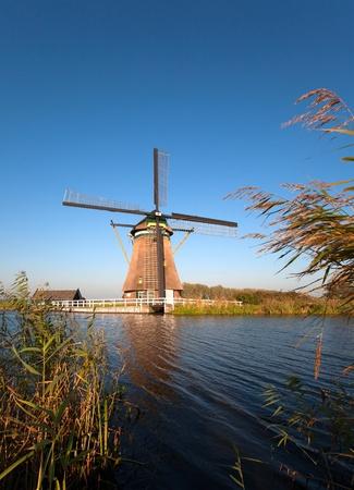 watermanagement: Traditional Dutch windmill