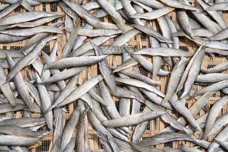 fish vendor: Dried fish