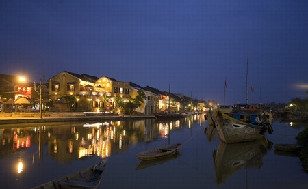hoi an: Hoi An at night