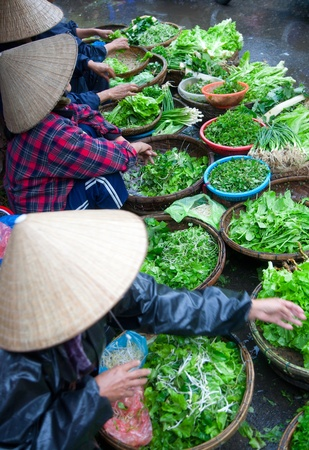 adult vietnam: Hoi An market