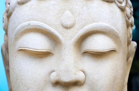 stone buddha: Buddha s eyes