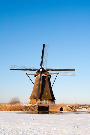 Dutch windmill Stock Photo - 12886467