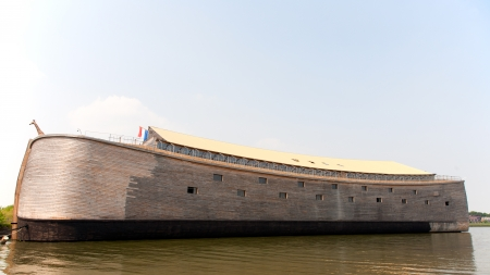 Replica of Noah's Ark in the Netherlands  photo