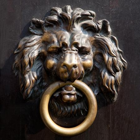 Antique doorknocker photo