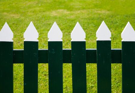 picket fence: Picket fence