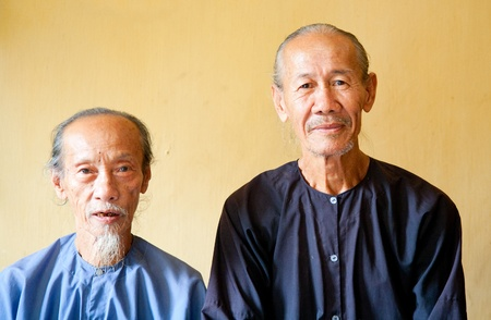 Vietnamese monks  photo