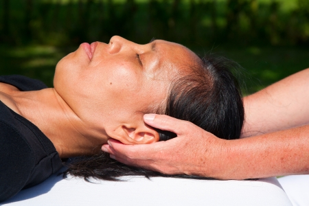 Polarity massage Stock Photo - 15742506