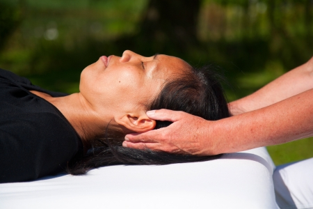 Polarity massage Stock Photo - 15742501