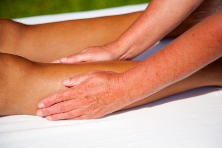 Polarity massage Stock Photo - 15737171