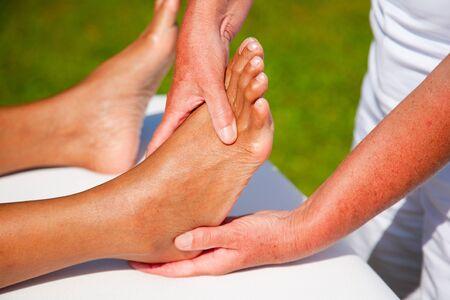 Polarity massage Stock Photo - 15737179