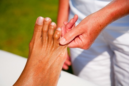 Polarity massage Stock Photo - 15737170