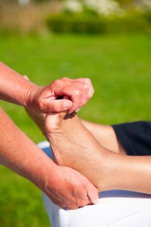 Polarity massage Stock Photo - 15737184