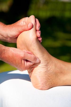 Polarity massage Stock Photo - 15737157