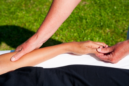 Polarity massage Stock Photo - 15743037