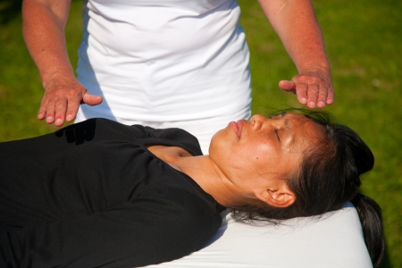 energy healing: Polarity massage