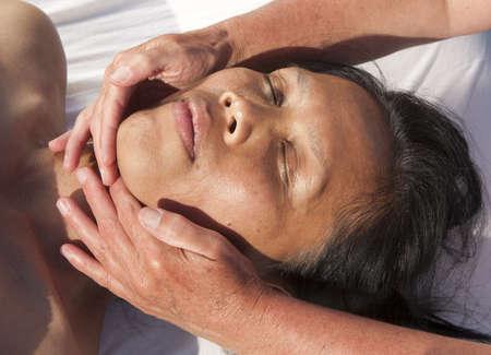 techniek: Japanse gezichtsmassage