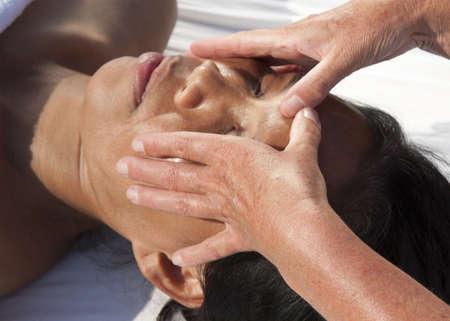 restore energy flow: Japanese facial massage