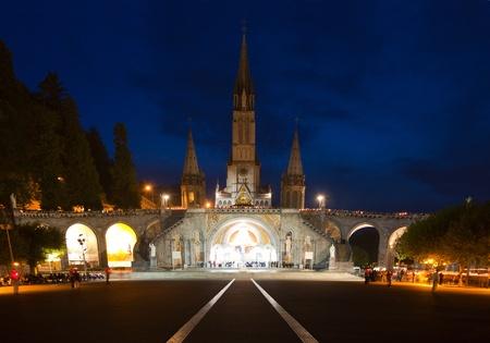 procession: Basilica Lourdes
