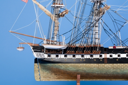 Model ship Constitution Stock Photo - 16441618