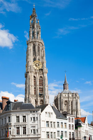 gothic church: Antwerp Cathedral