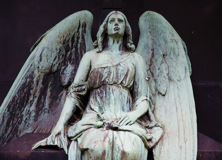 angel cemetery: Grave