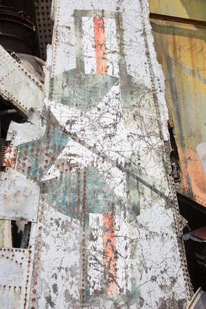 wreckage: Airplane wreckage