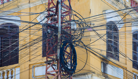 interlocked: Vietnam powerlines